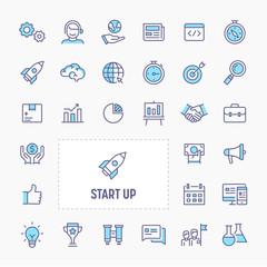 Start-Up Icon Set