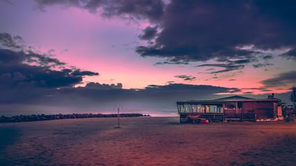 beach sea kiosk