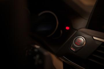 Car start/stop button