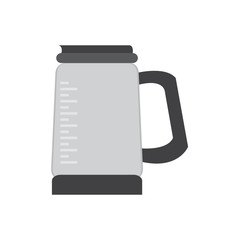 Isolated coffee pot icon