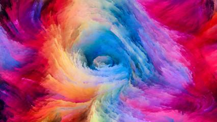 Colorful Paint Vision