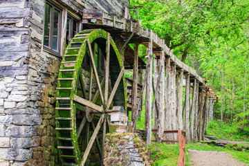 Water powered mill