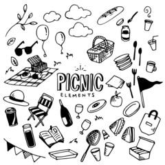 Picnic Illustration Pack