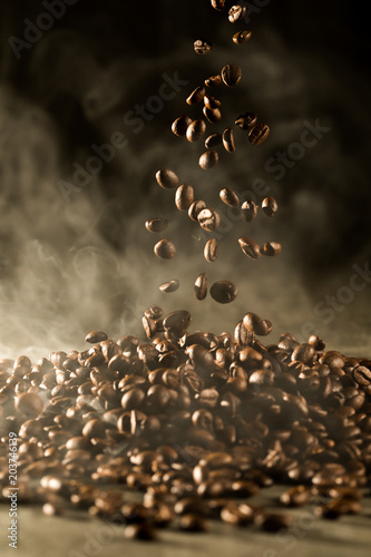 Coffee Beans Good Smell Aroma Drinking In Morning For Wake