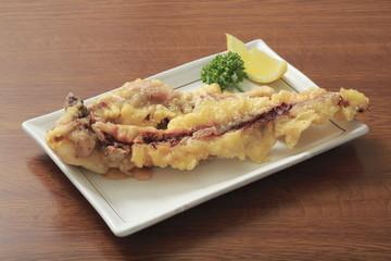 蛸の足の天ぷらイメージ