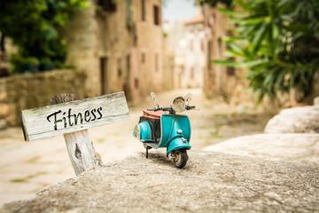 Schild 319 - Fitness