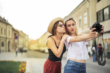 Selfie with a friend