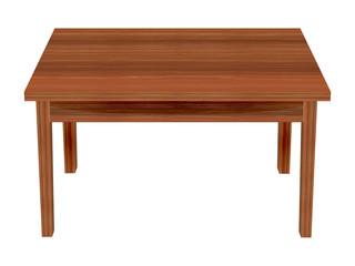 Wooden table.Vector Illustration.EPS10.