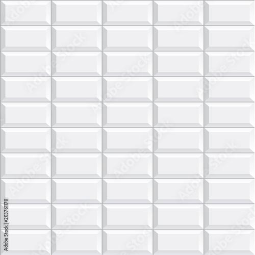 Quot Seamless Subway Tile Texture Vector Illustration Quot Stock