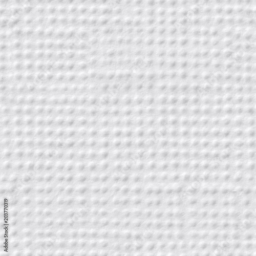 Speckled Contrast White Paper Texture Seamless Square Background Tile Ready