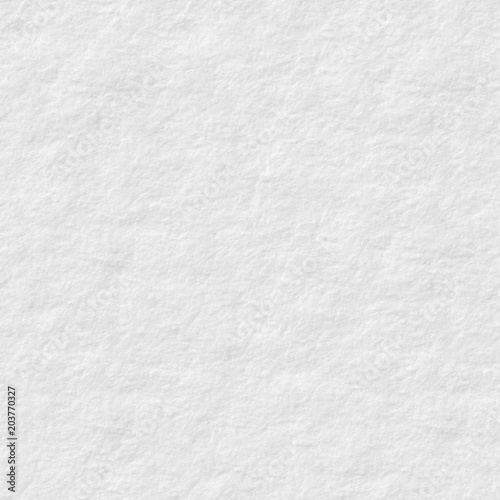 Usual White Paper Texture With Simple Surface Seamless Square Background Tile Ready