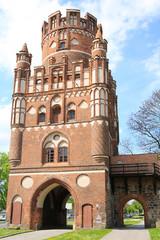 The medieval Uenglinger Gate in Stendal, Saxony-Anhalt, Germany
