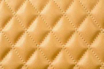 Gold leather texture.