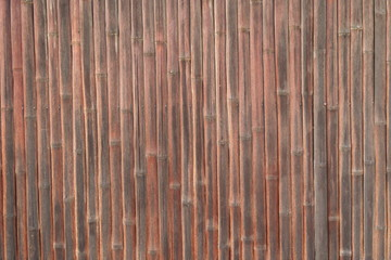 古い竹の壁 - Old bamboo wall