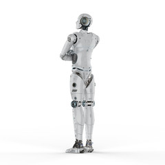 robot arm crossed