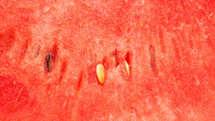 Close up of red watermelon for a background.