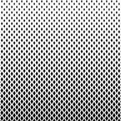 Abstract black and white color of squares shapes halftone pattern. Texture pixel mosaic dotted background. Pop art template. Vector illustration