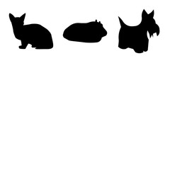 Set Of 9 simple editable icons such as buffalo sky, scottie dog, edinburgh sky