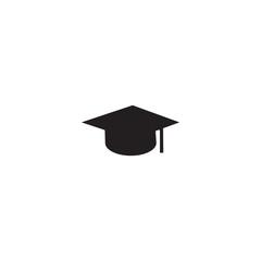 graduation hat icon. sign design