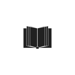 book icon. sign design