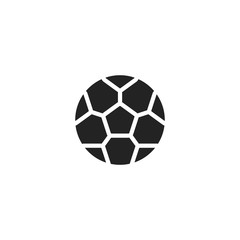 soccer ball icon. sign design