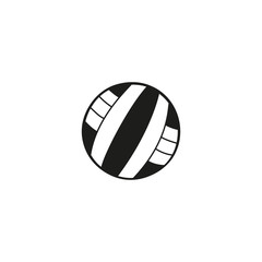 volleyball ball icon. sign design
