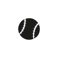 baseball ball icon. sign design