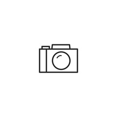 photo camera icon. sign design