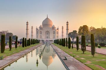 Taj Mahal at the sunrise, Arga, India