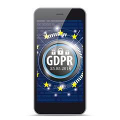 Black Smartphone GDPR