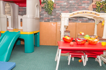 playground for children model kitchen