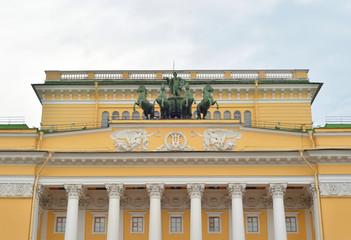 Alexandrinsky Theatre, Saint Petersburg.