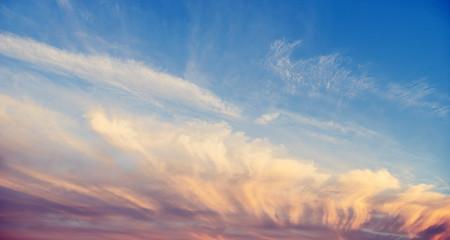 Color sky summer background