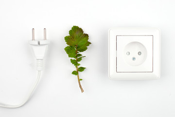Disconnect, unplug - concept pict about getting free from technologies and modern life links