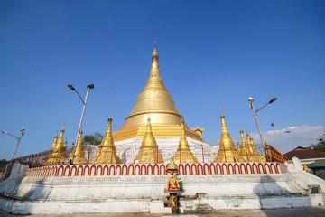 Beautiful Temple at Yangon, Myanmar
