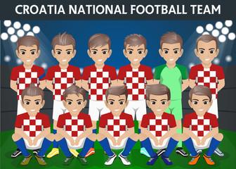 Croatia National Football Team for International Tournament