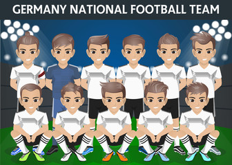 Germany National Football Team for International Tournament