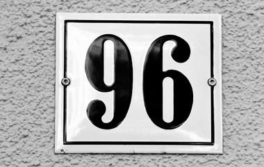 Hausnummer 96