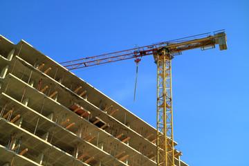 Picture of a crane.