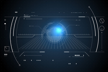 The navigation system, the interface design of the sense of science and technology.