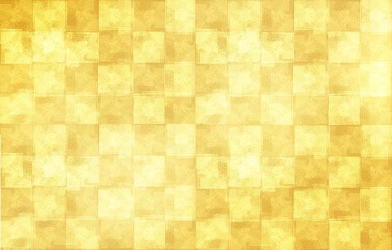 金箔の屏風(日本の伝統美)