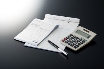 business image of a slip and the pen