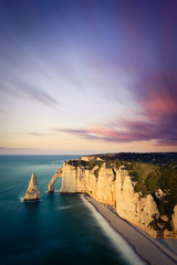 Cliffs of Etretat, France
