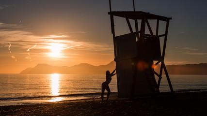 Mallorca - Sonnenaufgang am Strand von Ca'n Picafort