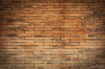 Abstract vintage style old brick wall background