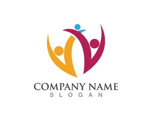 Community care logos