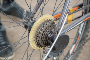 bicycle equipment and its use