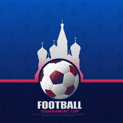 russia 2018 football championship background