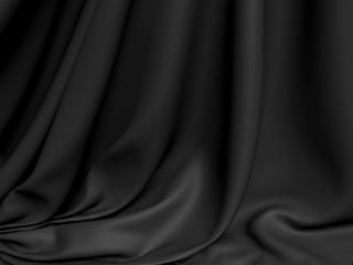 Abstract Texture. Blue Silk