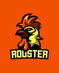Rooster Badge Design